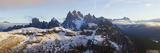 Italy, Trentino-Alto Adige, South Tyrol, Bolzano District, Alta Pusteria, Hochpustertal, Dolomiti D Fotografie-Druck von Peter Adams