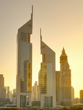 Uae, Dubai, Sheikh Zayed Road, Emirates Towers Photographic Print by Alan Copson