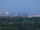 Millennium Wheel (London Eye), Big Ben and Hyde Park, London, England, Uk Photographic Print by Jon Arnold