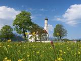 Saint Coloman Near to Fuessen, Allgaeu, Bavaria, Germany Photographic Print by Katja Kreder