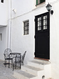 Spain, Balearic Islands, Ibiza, Ibiza Old Town (UNESCO Site), Dalt Vila Photographic Print by Michele Falzone