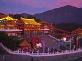 Taiwan, Nantou, Sun Moon Lake, Wenwu Temple Photographic Print by Jane Sweeney