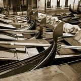 Gondolas, Venice, Italy Photographic Print by Jon Arnold
