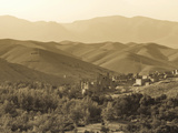 Morocco, High Atlas Mountains, Kasbah Ait Arbi Photographic Print by Michele Falzone