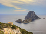 Spain, Balearic Islands, Ibiza, Es Vedra Rocky Island Photographic Print by Michele Falzone