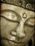 Buddha Mask, Kuala Lumpur, Malaysia Photographic Print by Jon Arnold