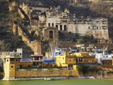 Bundi Palace, Bundi, Rajasthan, India Photographic Print by Ian Trower
