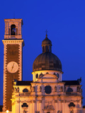 Italy, Veneto, Vicenza, Western Europe, Detail of Church on Monte Berico Photographic Print by Ken Scicluna