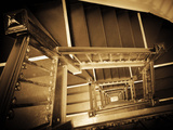 USA, New York, Manhattan, Midtown, Staircase Photographic Print by Alan Copson
