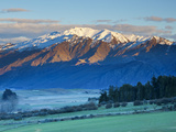 View Towards Coronet Peak Ski Field, Queenstown, Central Otago, South Island, New Zealand Photographic Print by Doug Pearson