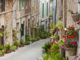 Village Street, Valldemossa, Mallorca, Balearic Islands, Spain Photographic Print by Doug Pearson