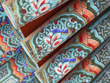 Korea, Gyeongsangbuk-Do, Gyeongju, Bulguksa Temple, Traditional Roof Photographic Print by Jane Sweeney