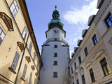 Slovakia, Bratislava, Old Town, St. Michaels Gate and Tower Photographic Print by Michele Falzone