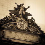 USA, New York City, Manhattan, Midtown, Grand Central Station Photographic Print by Alan Copson