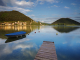 Italy, Umbria, Terni District, Piediluco Lake Photographic Print by Francesco Iacobelli