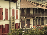 Colonial Shop Houses, China Town, Singapore Photographic Print by Jon Arnold