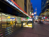 USA, New York, Manhattan, Midtown, 8th Avenue, Tick Tock Diner Photographic Print by Alan Copson