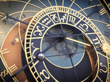 Czech Republic, Prague, Stare Mesto (Old Town), Astronomical Clock Photographic Print by Michele Falzone