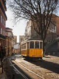 A Tramway in Alfama District, Lisbon Photographic Print by Mauricio Abreu