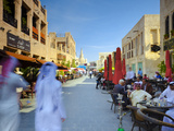 Qatar, Doha, Souq Waqif Photographic Print by Alan Copson