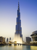 Burj Khalifa, Dubai, United Arab Emirates Photographic Print by Neil Farrin