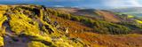 UK, England, Derbyshire, Peak District National Park, Stanage Edge Fotoprint van Alan Copson