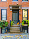 USA, New York, Brooklyn, Brooklyn Heights, Halloween Pumpkins Photographic Print by Alan Copson