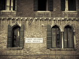 Corte Seconda Del Milion (Probable Location of Marco Polo's Family Residence), Venice, Italy Photographic Print by Jon Arnold