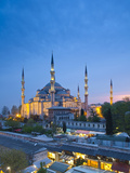 Blue Mosque (Sultan Ahmet Camii), Sultanahmet, Istanbul, Turkey Photographic Print by Jon Arnold
