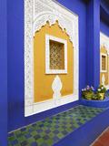 Majorelle Gardens, Marrakesh, Morocco, North Africa Fotografisk tryk af Gavin Hellier