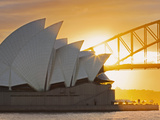 Australia, New South Wales, Sydney, Sydney Opera House, Photographic Print by Shaun Egan
