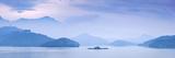 Taiwan, Nantou, Sun Moon Lake, Stampa fotografica di Jane Sweeney