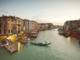 Grand Canal from the Rialto, Venice, Italy Photographic Print by Jon Arnold