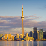 Canada, Ontario, Toronto, Cn Tower and Downtown Skyline Photographic Print by Alan Copson