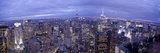 Midtown Skyline with Empire State Building from the Rockefeller Center, Manhattan, New York City, U Photographic Print by Jon Arnold