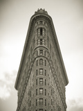 Flatiron Building, Manhattan, New York City, USA Photographic Print by Jon Arnold