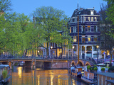 Keizersgracht, Amsterdam, Netherlands Photographic Print by Neil Farrin