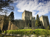 Guimaraes Castle, Where Portugal Was Founded in the 12th Century. a UNESCO World Heritage Site. Photographic Print by Mauricio Abreu