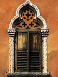 Italy, Veneto, Verona, Western Europe, a Tpical Pointed Window from the Veneto Region Photographic Print by Ken Scicluna