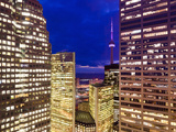 Canada, Ontario, Toronto, Downtown Financial District, Cn Tower Photographic Print by Alan Copson
