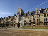Christchurch Is One of Largest Constituent Colleges of the University of Oxford in England, College Photographic Print by David Bank