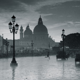 Piazza San Marco Looking across to Santa Maria Della Salute, Venice, Italy Photographic Print by Jon Arnold