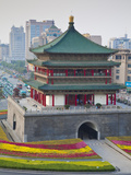China, Shaanxi, Xi'An, Bell Tower Photographic Print by Jane Sweeney