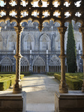 Cloisters of the Batalha Monastery, a UNESCO World Heritage Site, Portugal Photographic Print by Mauricio Abreu