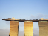 Marina Bay Sands Hotel and Skypark, Singapore Photographic Print by Ian Trower