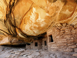 USA, Utah, Fallen Roof Ruin Cliff Dwelling Photographic Print by Mark Sykes