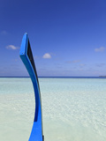 Maldives, Faafu Atoll, Lagoon Photographic Print by Michele Falzone