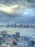 View from Soho Towards New Jersey and Hudon River, Manhattan, New York City, USA Photographic Print by Jon Arnold