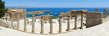 The Acropolis of Lindos, Lindos, Rhodes, Greece Photographic Print by Doug Pearson