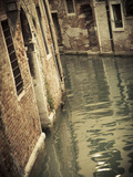 Canal in the Castello District, Venice, Italy Photographic Print by Jon Arnold